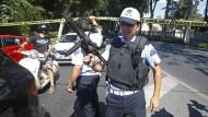 Schüsse vor Palast in Istanbul