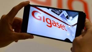 Gigaset holt die Mobiltelefon-Produktion zurück nach Deutschland