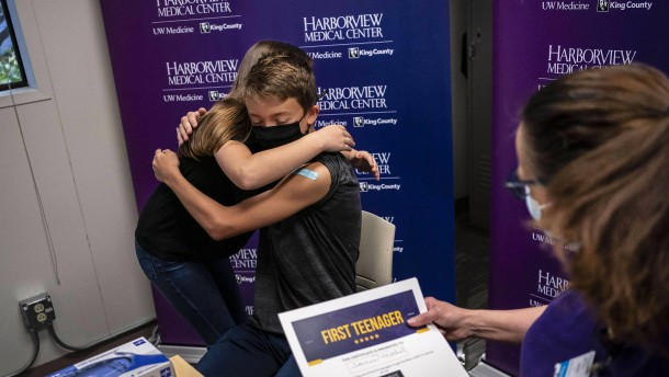 Impfkampagne für Zwölf- bis 15-Jährige in den USA gestartet