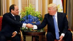 Trump lobt sehr starke Sicherheit in Ägypten