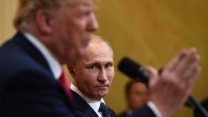 Russland ist bereit für weitere Treffen mit Trump