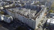 Bezahlbar und begehrt: Etliche der staatlich geförderten Wohnungen im neuen Goethe-Quartier sind bereits vergeben.