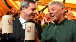 Münchner Oktoberfest eröffnet