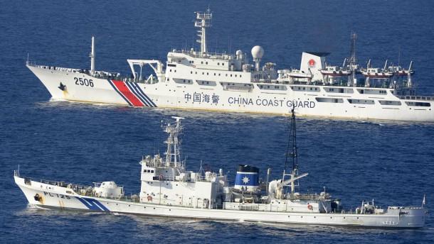 Japan: China gefährdet Frieden
