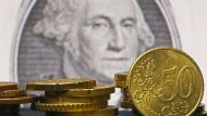 Euro sackt unter 1,05 Dollar