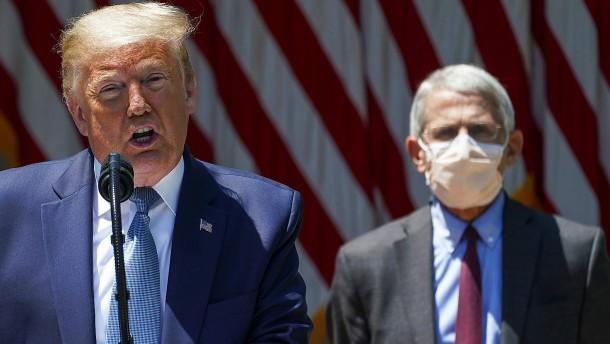 Trump-Regierung diskreditiert Fauci