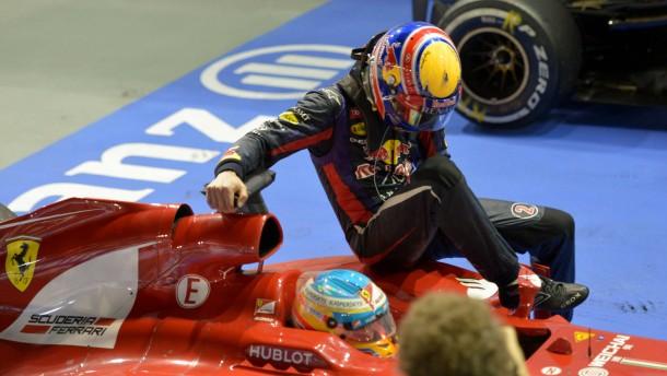 Als Anhalter in der Formel 1