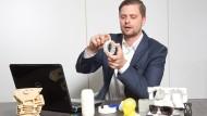 Start ohne Förderung: Fabian Strohschein von 3D Activation fertigt mit 3D-Druckern Prototypen für die Industrie.