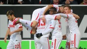 Köln gewinnt in Düsseldorf