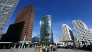 Am Potsdamer Platz in Berlin sind einige Immobilienfonds ansässig.
