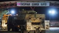 Raketen aus Syrien treffen türkisches Grenzgebiet