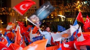Alleinherrscher Erdogan