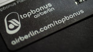 Auch Air Berlins Meilenprogramm steht vor dem Aus