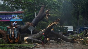 Hurrikan Otto rast auf Costa Rica zu