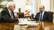 Steinmeier will gemeinsames Gespräch mit Merkel, Seehofer und Schulz