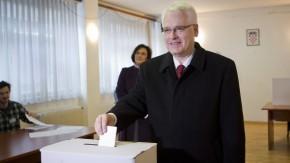 Der amtierende kroatische Präsident Ivo Josipovic konnte keinen Vorsprung erzielen.