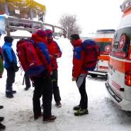 Nach dem Unglück: Rettungskräfte in Südtirol