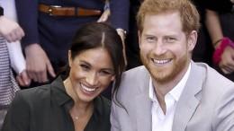 Prinz Harry und Meghan erwarten Nachwuchs