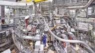 Teure Forschung: Der Kernfusionsreaktor des Max-Planck-Instituts für Plasmaphysik in Greifswald