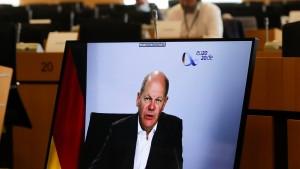 EU-Minister beraten über die Nutzung des Corona-Fonds