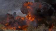 In Kalifornien tobt ein Flächenbrand