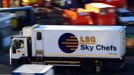 Immer unterwegs: Der Lufthansa-Caterer versorgt 50 internationale Fluggesellschaften mit Bordverpflegung.