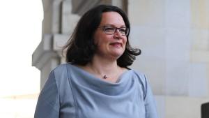 Nahles will Internetkonzerne zum Daten-Teilen zwingen