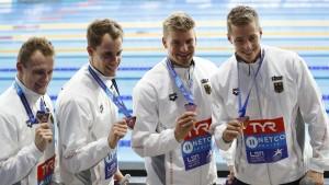 Deutsche Lagenstaffel gewinnt Bronze