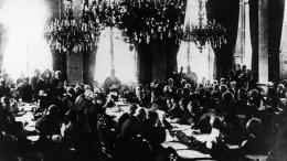 Die Eröffnung der Pariser Friedenskonferenz