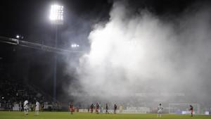 Montpellier Meister nach Chaos-Spiel