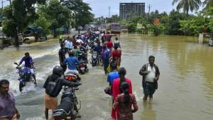 164 Tote und 200.000 Obdachlose nach Flut in Indien
