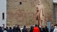 China verteidigt Statue als freundliches Geschenk