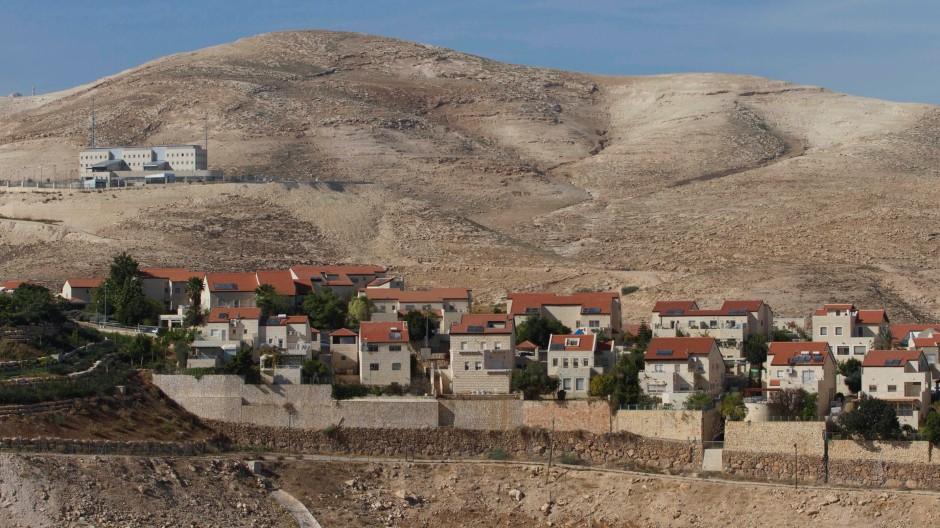 Noch unbebaut: Der Hang zwischen Maale Adumim und Ostjerusalem