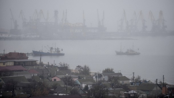 Zugang zum Asowschen Meer teilweise wieder frei