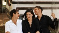 Jamie Smith, Romy Madley Croft und Oliver Sim von The xx