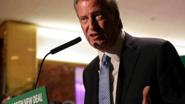 De Blasio steigt in Rennen für Präsidentenamt ein