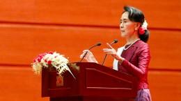 Suu Kyi verurteilt erstmals Gewalt gegen Rohingya