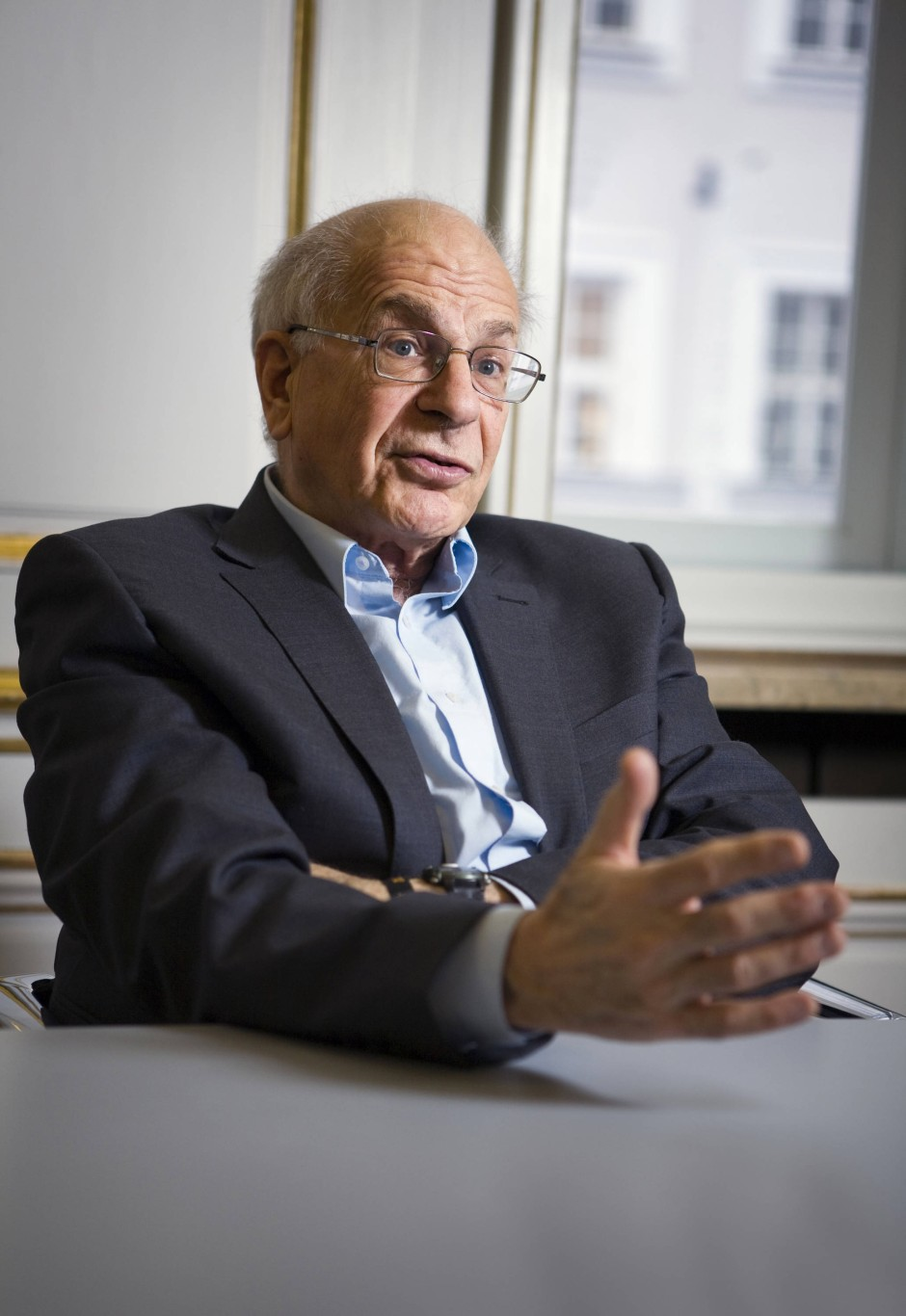 daniel kahneman The nobel prize-winning economist parses the roles of emotion, cognition, and perception in the understanding of business risk.