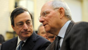 Schäuble und Draghi streiten über Zypern-Hilfe