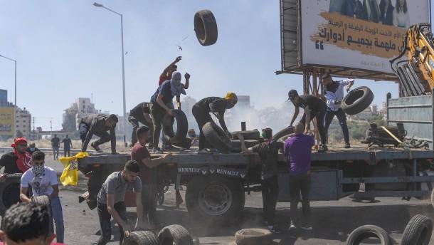 Gewalt eskaliert auch im Westjordanland