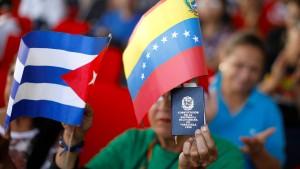Kuba bestreitet, Militär in Venezuela stationiert zu haben