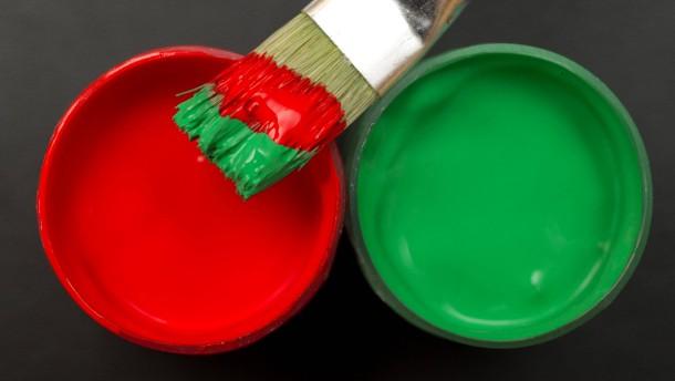 Rot-Grün - Umfrage sieht absolute Mehrheit