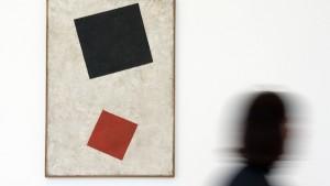 Malewitsch-Gemälde als Fälschung identifiziert