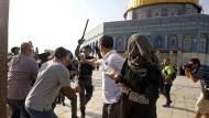 Israel schließt wieder den Tempelberg