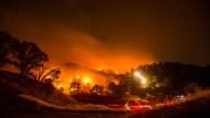 Buschbrände breiten sich aus