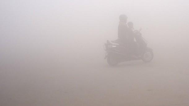 Dicke Luft in Delhi