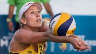 Alles auf Angriff: Karla Borger will mit Magareta Kozuch erfolgreich sein