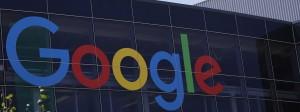 Google-Logo am Hauptsitz des Unternehemns in der kalifornischen Stadt Mountain View