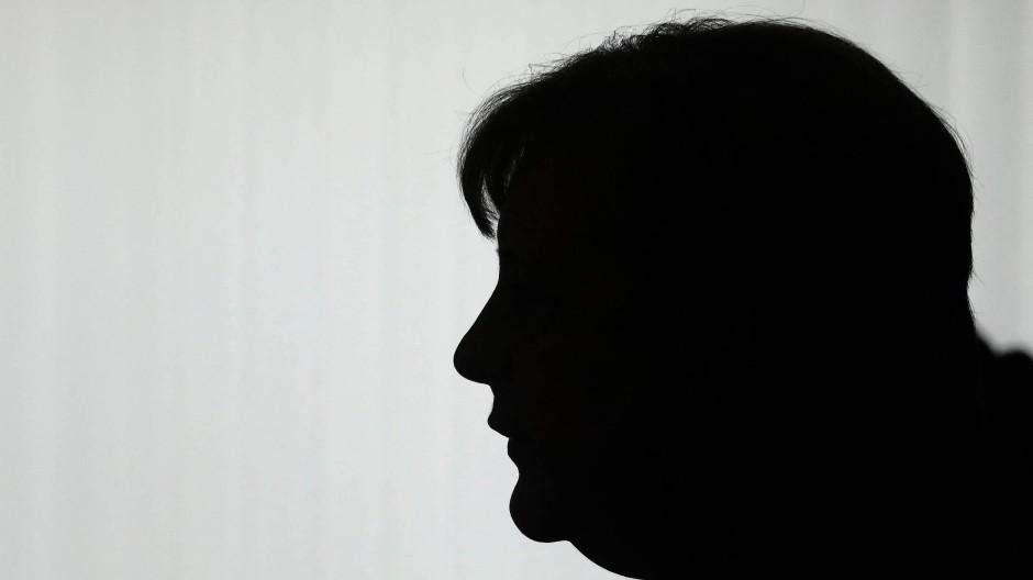Profil von Angela Merkel am 27. Mai 2020 bei einem Mediengespräch. Sie wird Deutschland am Ende ihrer Amtszeit 16 Jahre lang regiert haben.