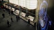 Sehr viel Luxus: Stand von Patek Philippe auf der Uhrenmesse in Basel